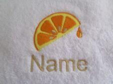 Serviettes, draps et gants de salle de bain peignoirs orange