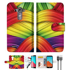 Meaningful Abstract Wallet TPU Case Cover For LG G4-- A020