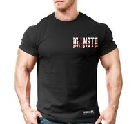 New Men's Monsta Clothing Fitness Gym T-shirt - CSS - This means War