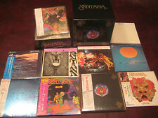 SANTANA LOTUS 10 REPLICA'S TO THE ORIGINAL LP JAPAN OBI 10 CD Sealed Box Set
