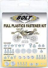 Bolt Full Plastic Fastener Kit for Honda 2000-07 CR 125R CR125R CR 250R CR250R