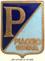 Vespa Piaggio Genova distintivo di propaganda motociclismo