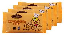 King David Vegan Butterscotch Chips Non-dairy Lactose Free Kosher 250g (4 Pack)