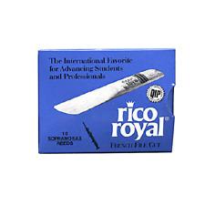 Rico Royal Soprano Sax Reeds (Previous Packaging) - 10 Per Box