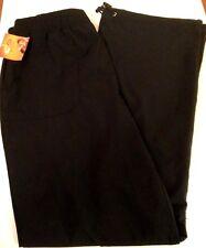 Champion Women's Athletic Pants Black Sz M Style P9151 Stretch Waist NEW w/Tags