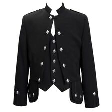 Sheriffmuir kilt Jacket with 5buttons Vest for Men Available in custom made size
