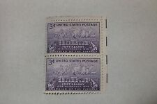$0.03 Cents Guardian of the Pioneers 1848-1948 Stamp Block of 2