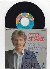 Peter Strauss  - Vogel im Wind  handsigniert