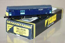 GRAHAM FARISH 8316 CJM Kit COSTRUITO rifinite DRS CLASSE 33 diesel locomotiva