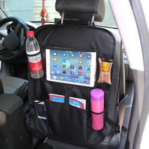 Seat Back Tablet Holder Organiser Car Travel iPad 61*41 Storage Pocket UK
