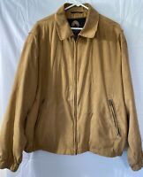 Weatherproof Jacket Mens: Size XL  100% Polyester. Snap Cuffs Preowned