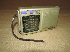 Vintage Bell & Howell World Receiver 9 Band Shortwave FM MW SW & Instructions