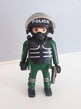 PLAYMOBIL (K2124) POLICE - Homme Officier Unité Spéciale 4693 Série Spéciale