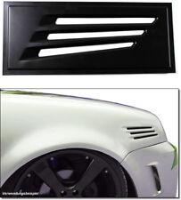 """Luftschlitze """"SPRINTER"""" Lufteinlass Kotflügel Metall Audi VW Seat Skoda für BMW"""