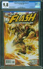 Flash The Fastest Man Alive #1 CGC 9.8 Near Mint/Mint White Pages DC Comics 2006