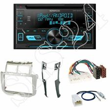Kenwood dpx3000u radio + toyota yaris (xp9) 2-din diafragma plata/Black + ISO-adaptador