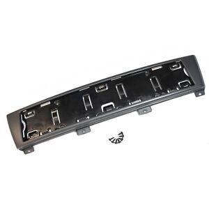 ORIGINAL Audi Kennzeichenhalter Kennzeichen Halter grau A3 8P4807285 1QP