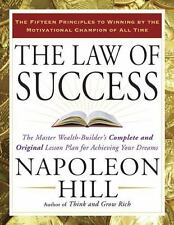 THE LAW OF SUCCESS - HILL, NAPOLEON - NEW PAPERBACK BOOK