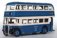 16129 EFE Blue Leyland Titan PD2 Highbridge Double Deck Bus Ashton 1:76 Diecast