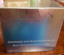 ORLANE GOMMAGE AGLI OLI ESSENZIALI Body Scrub With Essential Oils 200 ml 6.7oz