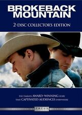 Brokeback Mountain NEW 2-Disc DVDs Collector's Edition 8 Postcards MulytiLingual