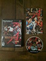 Guilty Gear XX: Accent Core, CIB & TESTED (Sony PlayStation 2, 2007)