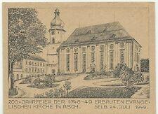 Asch 200-Jahr-Feier Evangelische Kirche (in Selb) 24. Juli 1949