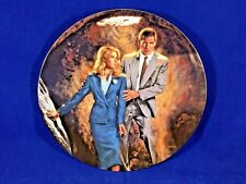 MINT 1989 Indiana Jones Last Crusade Plate Indiana Jones Dr Schneider COA #2252B