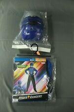 NEW Power Rangers Blue Ranger Beast Morpher Muscle Boys Costume Size Medium 8-10