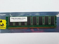 Generic 512MB RAM 184-pin DDR 266MHz PC2100 Computer Random Access Memory DIMM
