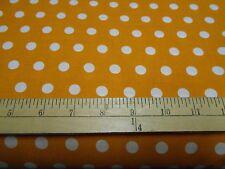 1 yard Little Dot Gold Fabric