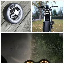 "6.8"" Vintage Refit Motorcycle LED Headlamp Headlight Distance Light Hi/Low Beam"