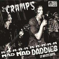 CRAMPS:  M-M-M- MAD MAD DADDIES   LIVE AT NAPA STATE HOSPITAL 1978  Vinyl lp Ltd