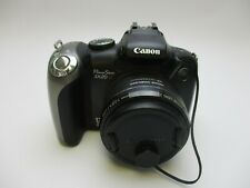 Canon PowerShot SX20 IS 12.1MP Digital Camera - Black - With 8GB SD Card TESTED