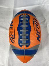 Vintage Weather Blitz Nerf Football Blue & Orange