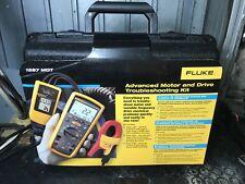 Fluke 1587 MDT + 9040 + I400 Kit Tester Terra X Oscilloscopio Spettro Multimetro
