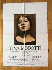 Tina Modotti - Fotografin und Revolutionärin (Kinoplakat '81) - Dokumentation