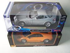 1:18 Scale Die Cast Collectible Lamborghini Murcielago Or 2003 Mercedes Benz SLR