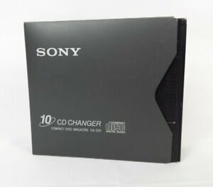 Original Sony XA-250 10 CD Changer Compact Disc Magazine w/ Sleeve