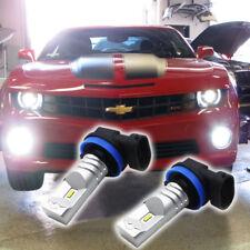 For 2014-15 Chevrolet Camaro H11 H8 Luxen LED Fog Light Super Bright 6000K White