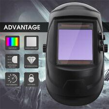 True Color Extra Large View Pro Solar Welding Helmet Auto Darkening Welder Mask'
