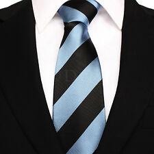 Hombre Rayas Tejido microfibra Corbata de poliéster - Noche Fiesta Trabajo
