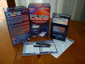 Pointless Travel Game : 100% complete : 10 years + : TV Game show