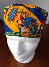 DC Comics Superhero - Men's Surgical Scrub Hat - Skull Cap