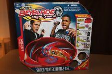BeyBlade Metal Fusion Super Vortex Battle Set Pre-Owned