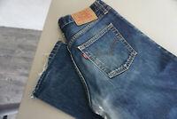 Levis Levi's 521 Herren Men Jeans Hose 32/30 W32 L30 Stonewashed Blau used ad35