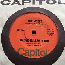 """STEVE MILLER BAND - - THE JOKER - - Rare 1973 Australian CAPITOL 7"""""""