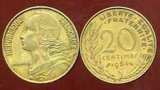 20 centimes 1964    marianne