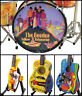 The BEATLES Yellow Submarine Miniature Guitars and Drum Set