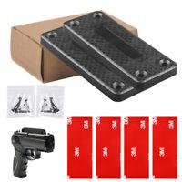 2PCS 35lb Magnet Concealed Pistol Gun Holder Mount under table desk Rating TOP